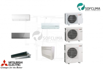 Мултисплит системи Mitsubishi Electric